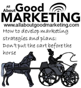 Marketing plans: Don'tput the cart before the horse