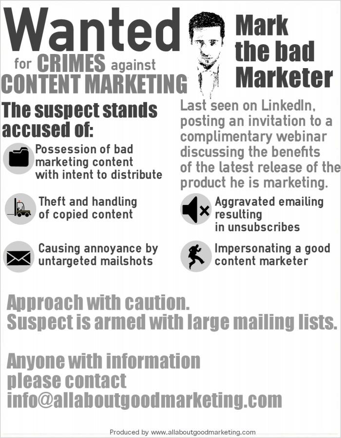 crimes against content marketing
