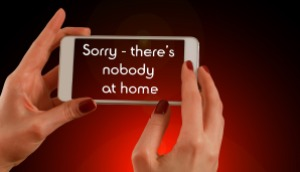 nobody at home - mobile marketing