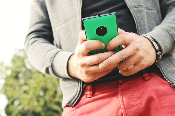 87% of millenials say that their smartphones never leave their side.